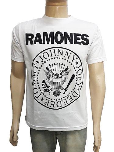 Ramones - Logo (malha branca)