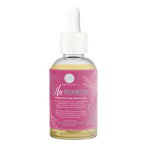 The Remedy: Stimulating Hair Growth Oil