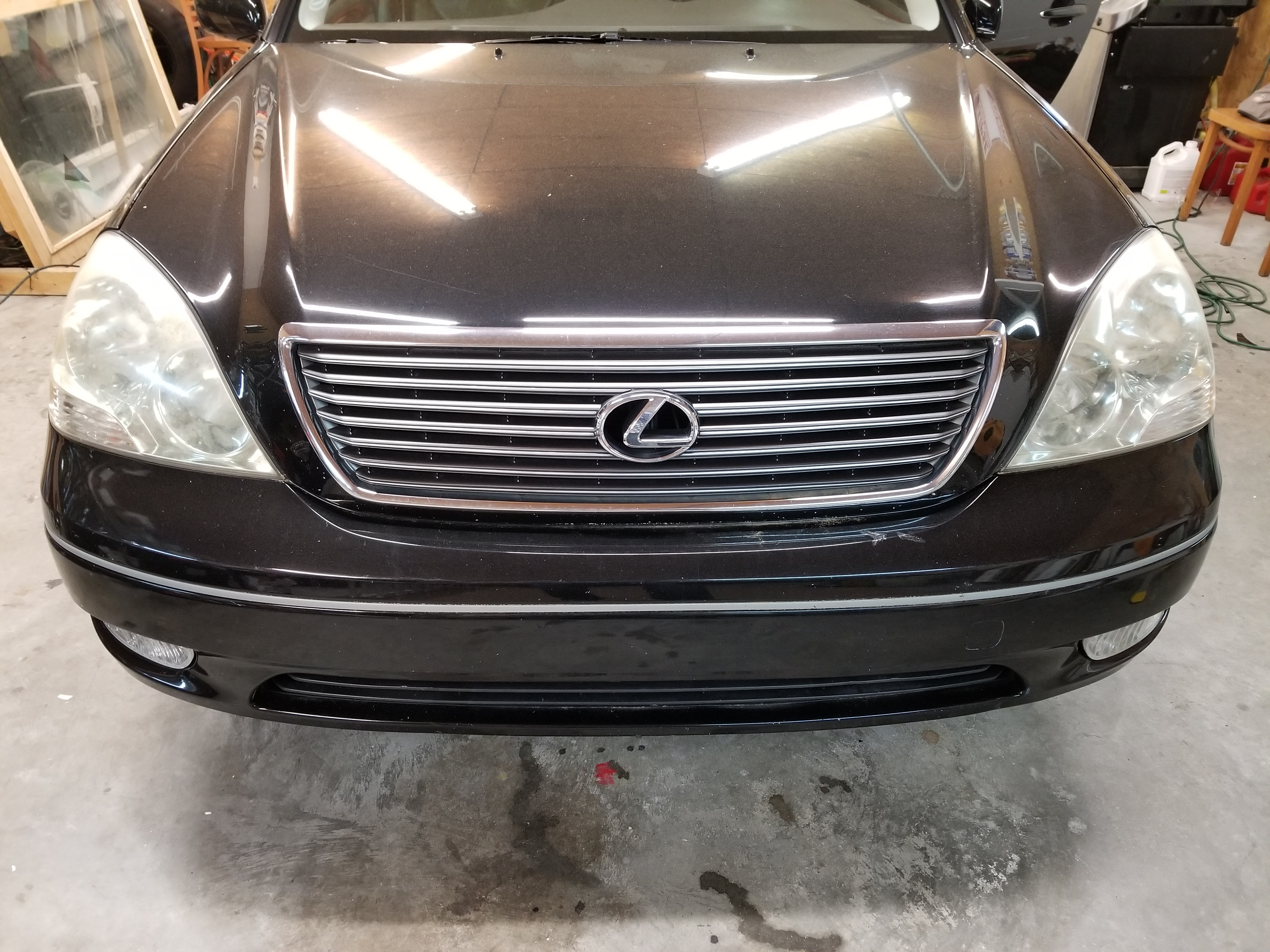 Lexus Headlights Before