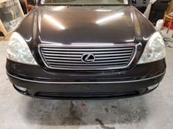 Lexus Headlights Before