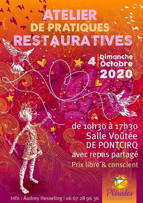AfficheA3_PratiqueRestaurative_4-Octobre