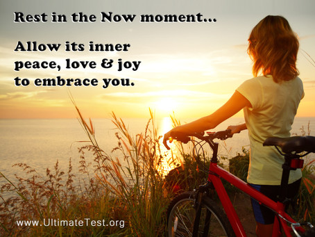 Rest in the Now moment...