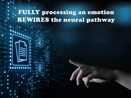 (Challenge 2 - Page 20) FULLY processing an emotion REWIRES the neural pathway