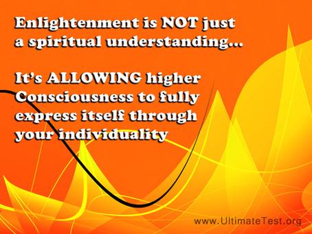 Enlightenment is...