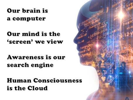 Our brain is a computer