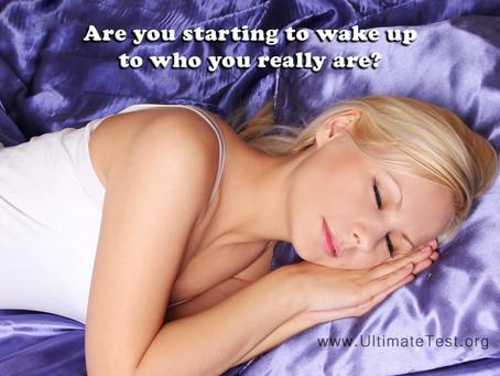 Wake up...