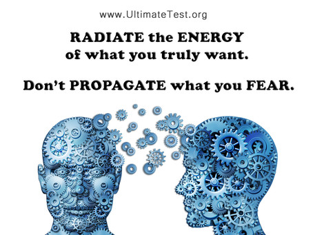 RADIATE the ENERGY of what you truly want
