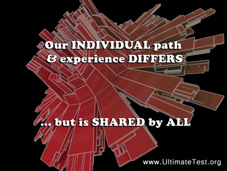 Our individual path...