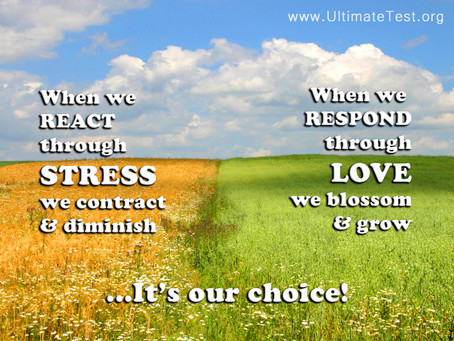 When we react through stress