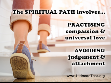 The SPIRITUAL PATH involves...