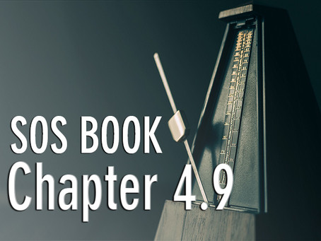 SOS BOOK (Chapter 4.9) Maximizing each moment – a strategy for success