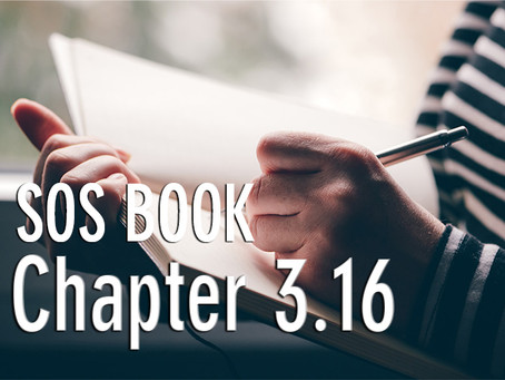 SOS BOOK (Chapter 3.16)  Journaling for personal transformation