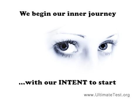 We begin our inner journey