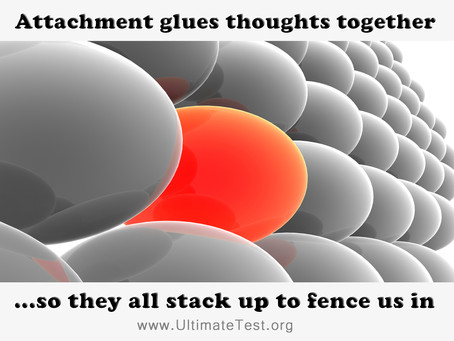 Attachment glues thoughts together...