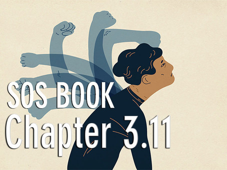 SOS BOOK (Chapter 3.11)   Overcoming doubts in starting personal transformation!