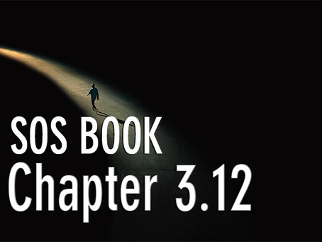SOS BOOK (Chapter 3.12)  Starting our personal development!