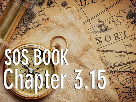 SOS BOOK (Chapter 3.15)  A radical plan & 7 secrets to finding our way!