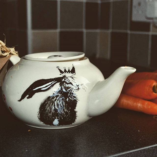 Second #teapot with a hare! _#hare #irel
