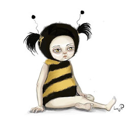 Bumblebee #illustrationfriday._._._#art