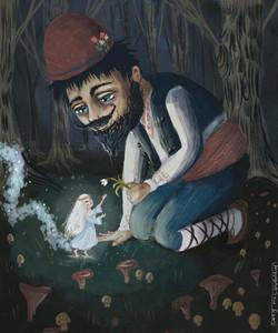 The Tiny wild fairy