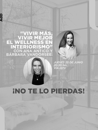"""Vivir mas, vivir mejor: el wellness en interiorismo"""