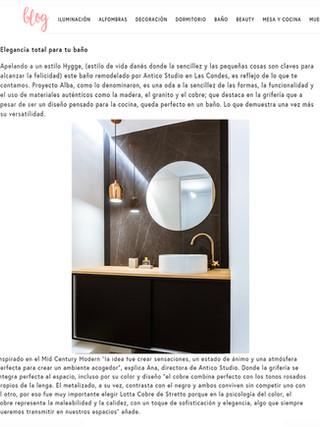 """""""Elegancia total para tu baño"""""""