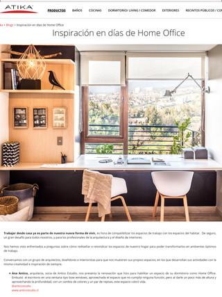 """""""Inspiracion en dias de Home Office"""""""