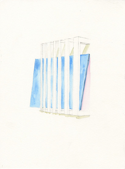 Sketch for a window 02