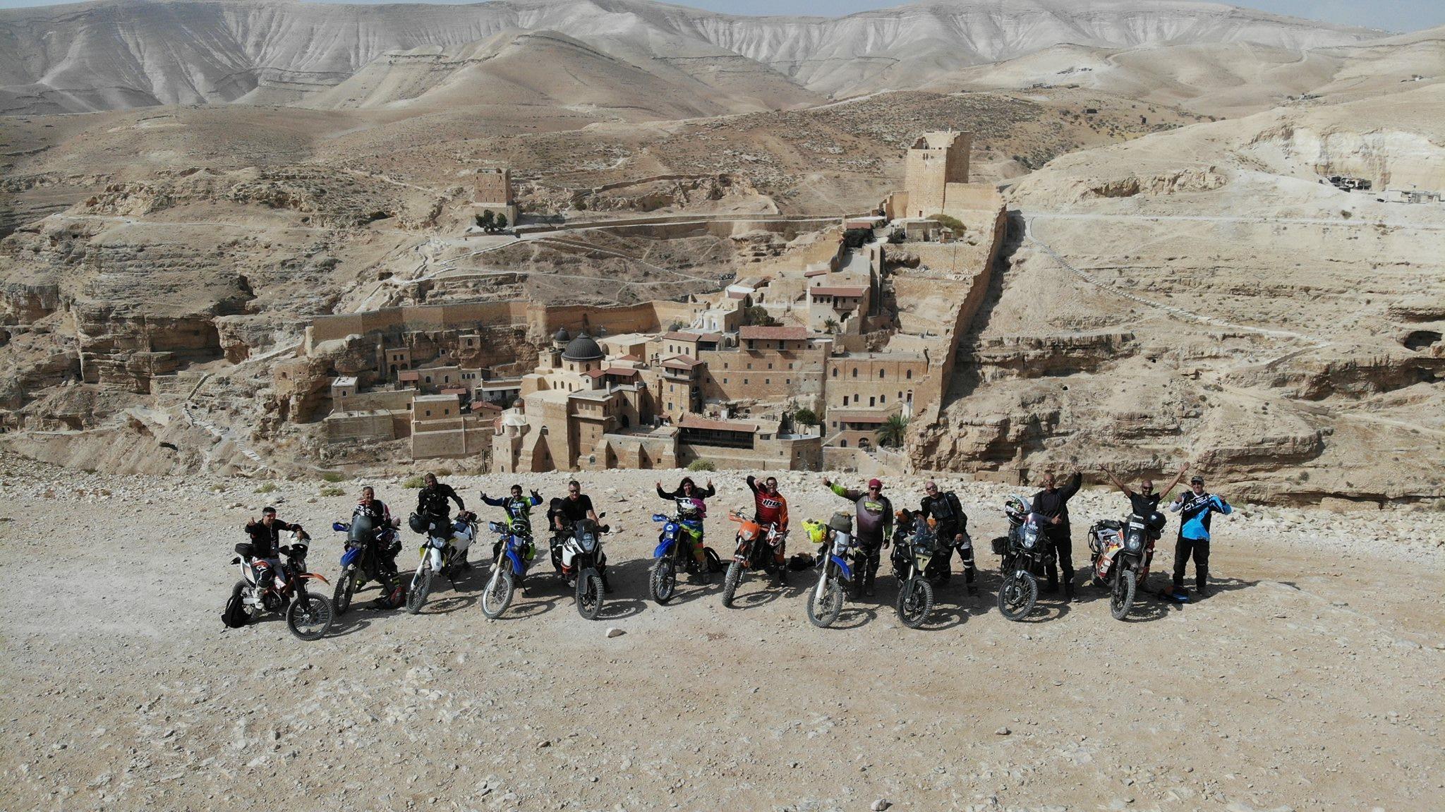 bikes in marsaba.JPG
