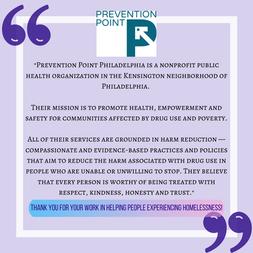 Prevention Point Philadelphia