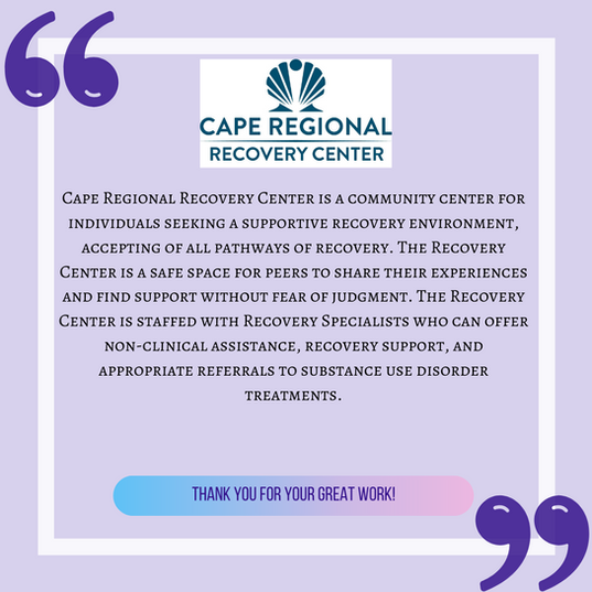 Cape Regional Recovery Center