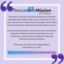 The Rescue Mission of Trenton