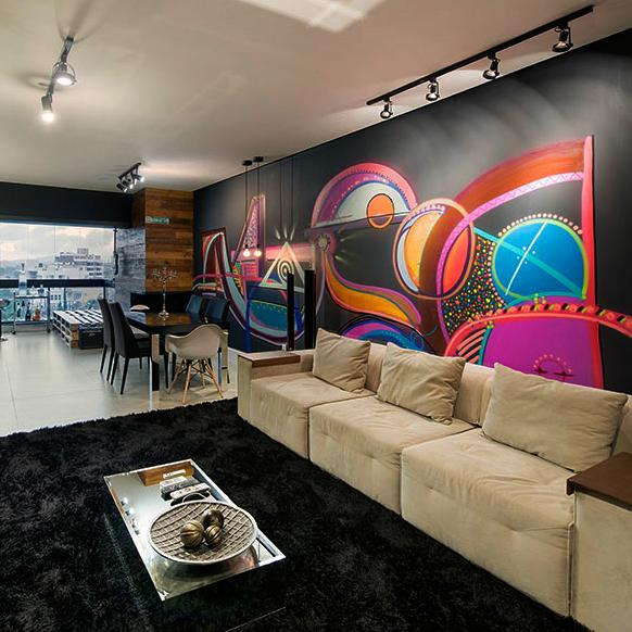 Music Life Pintura indoor Loft Indus