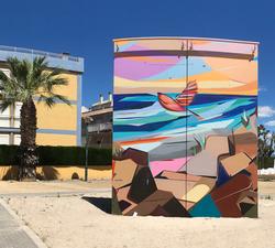 El primer vuelo - Puzol, Spain 2018
