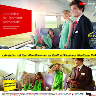 Swiss National Billboard Campaing SBB