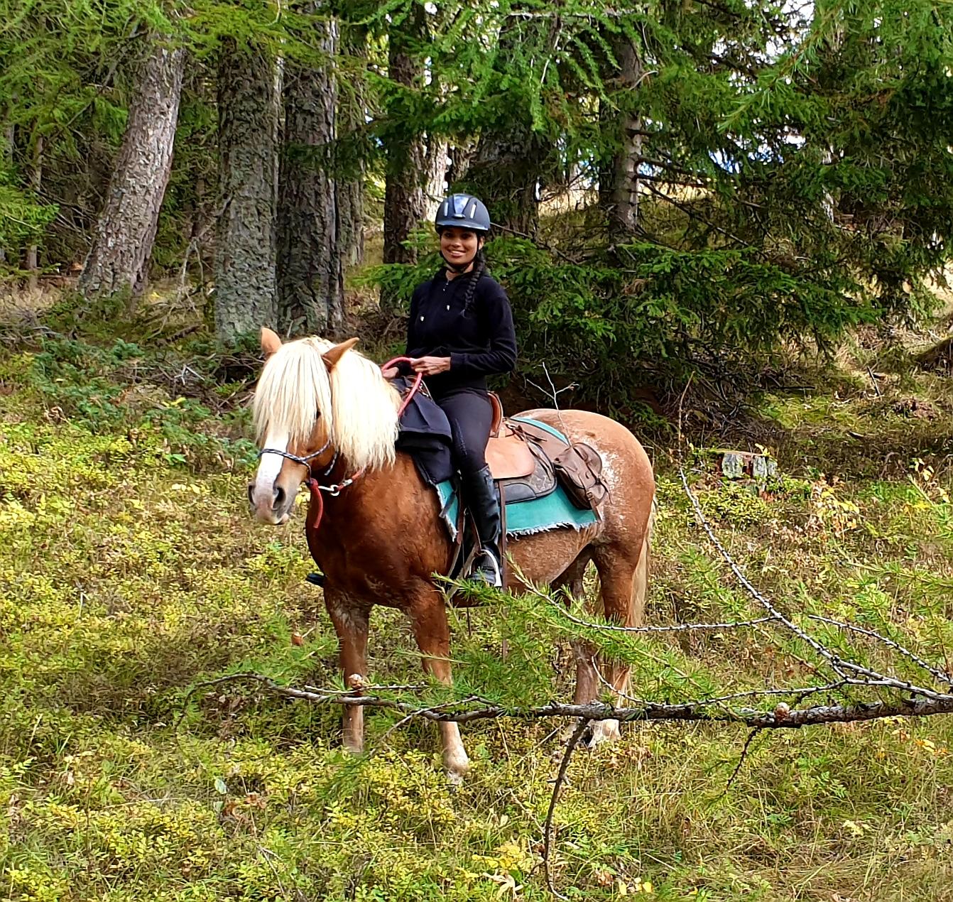 Horse Trekking Swiss Alps