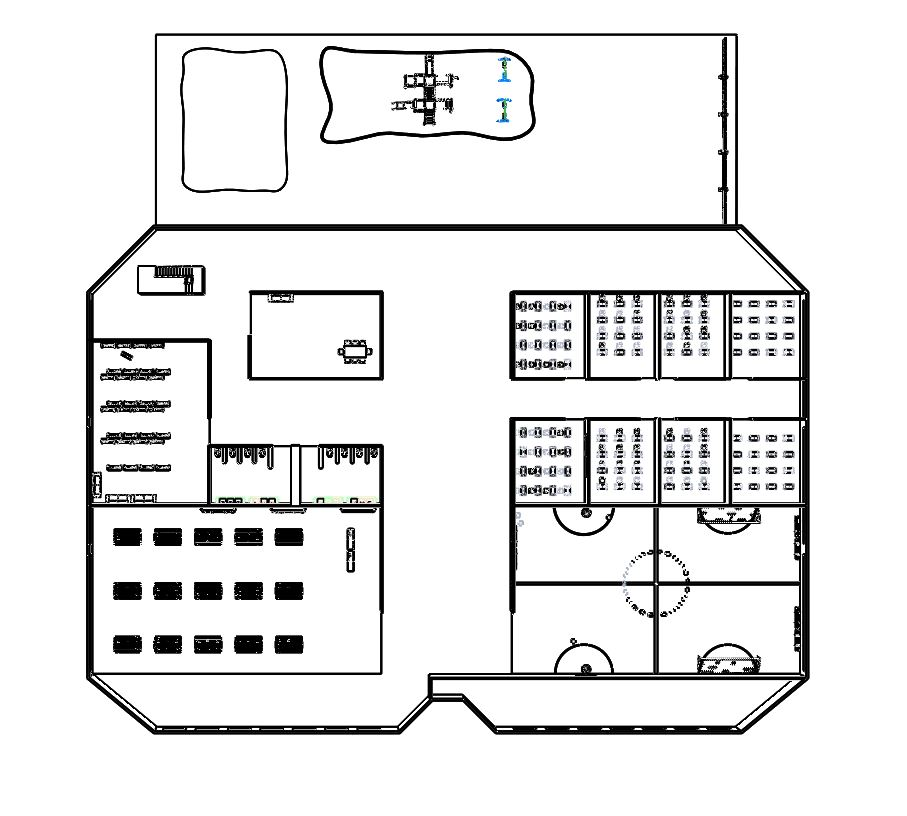 School Concept Floor Plan