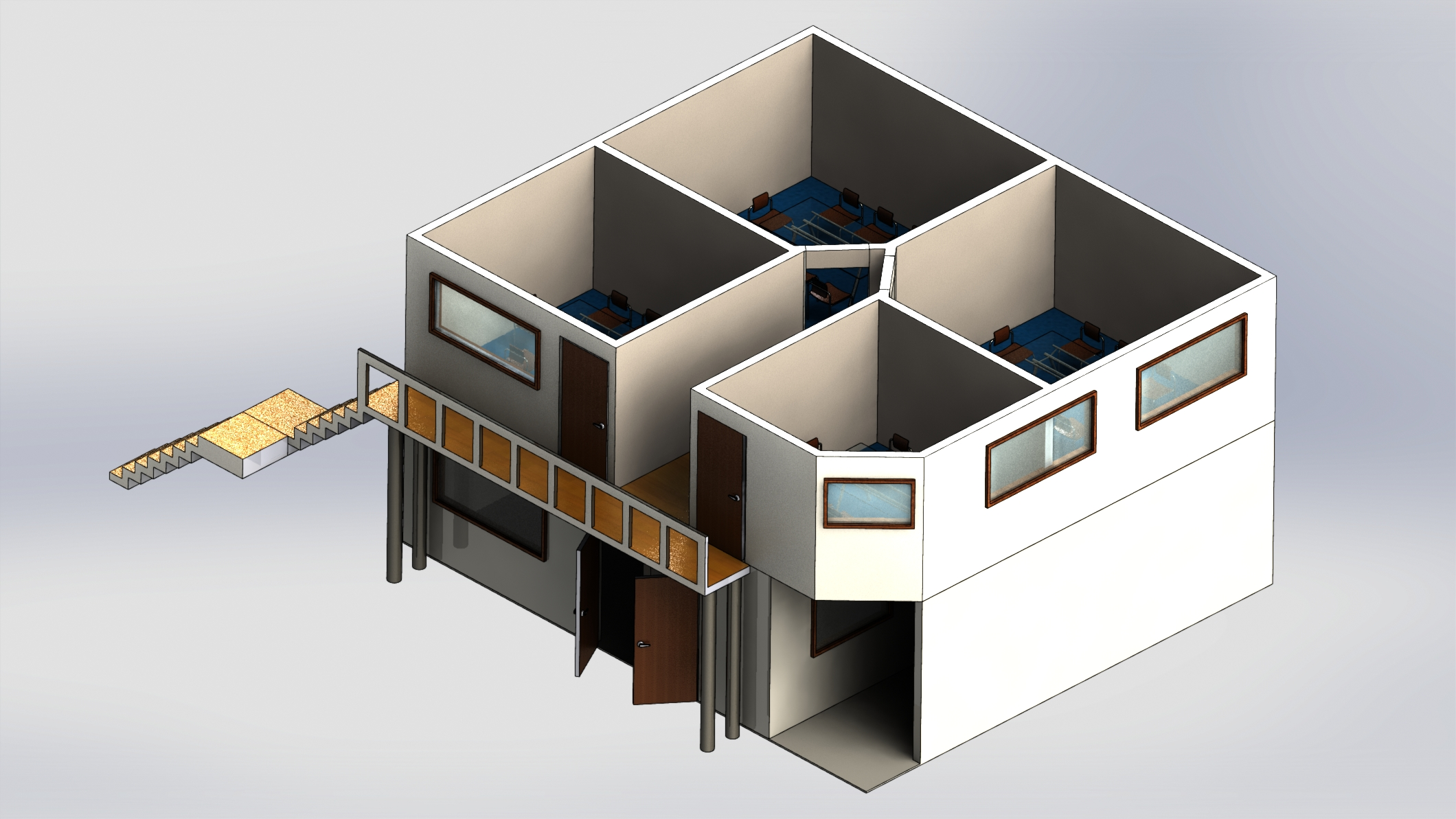 Complete Office Design Model