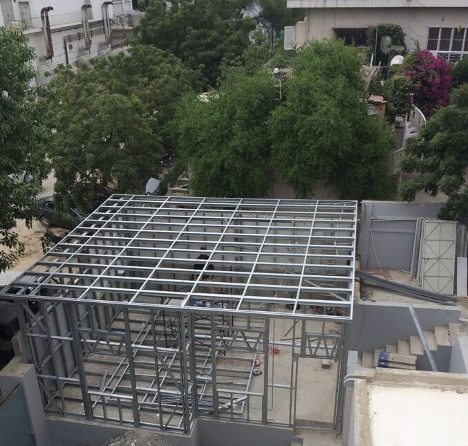 Steel Structure-Office Unit