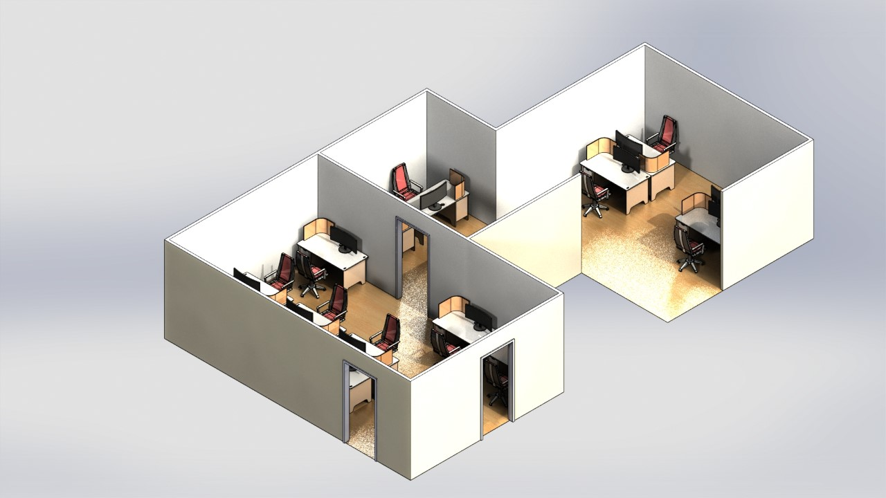 Karachi Executive Office Design