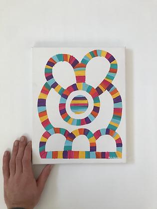 'bunnyduckydoodle' on canvas