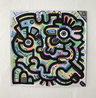 A square doodle = Squodle