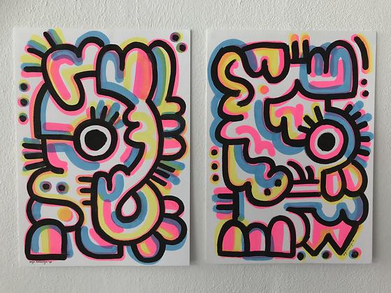 Happy doodle Duo!