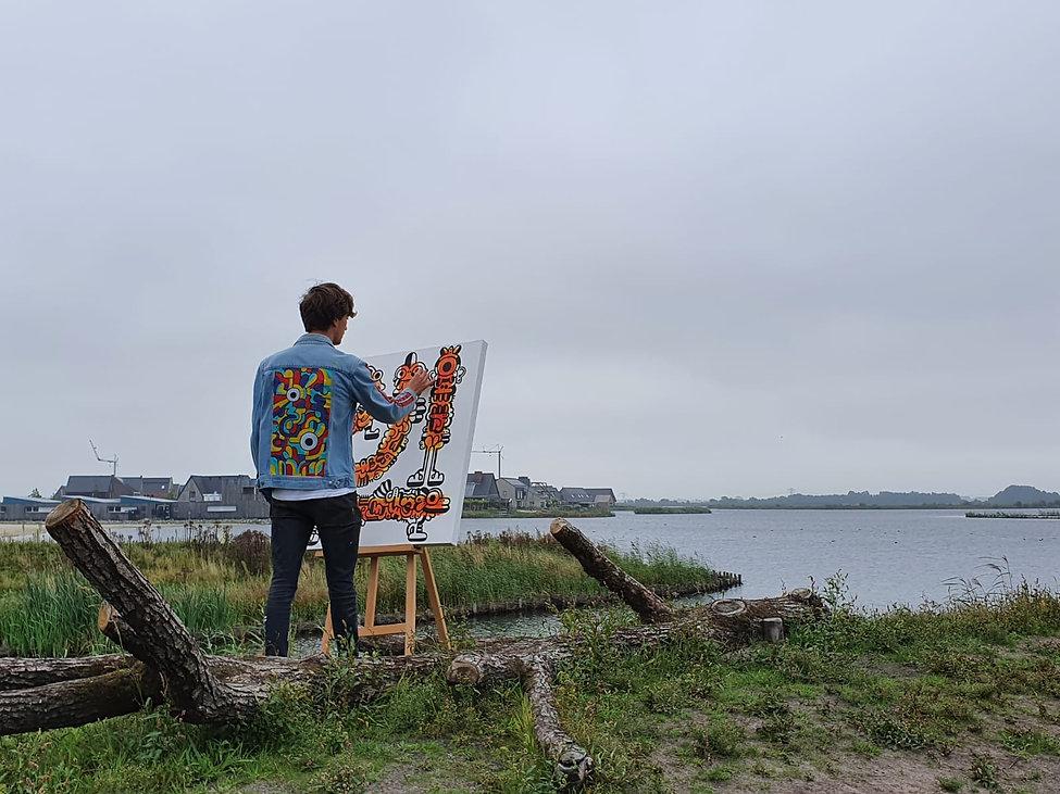 Stijn Valentijn   Stijn Wijnsma   kunst   art   betaalbaar   Meerstad   Groningen