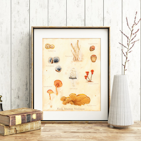 Mushroom Art