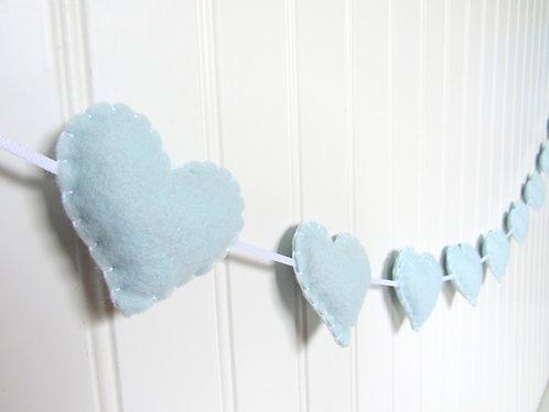Garland - baby blue