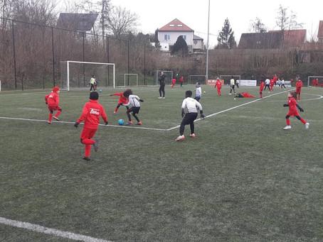 16/01: geslaagde oefenpot jeugd AZ tegen KFC Lennik/Ritterklub Jette