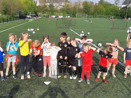 Voetbalspeeltuin 4- en 5-jarigen