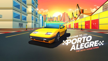 Horizon Chase Turbo Deluxe Edition has finally come to Porte Alegre!