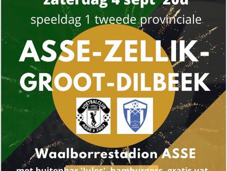 4 sept: Asse Zellik 2002 A – VC Groot-Dilbeek A